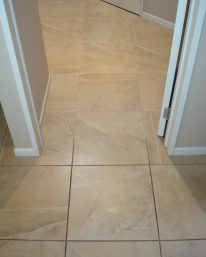 Grout Pro Australia - During - Top half completed