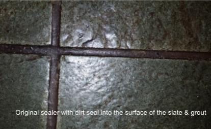 Restoring Slate Tiles & Tile Cleaning | Groutpro