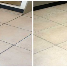 Grout Colouring Floor Tile
