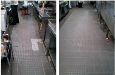 Replacing Grout in Commercial Kitchens | Groutpro