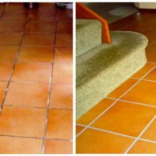Tile Cleaning & Grout Colouring