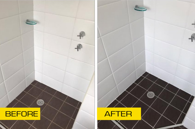 grout pro before and after