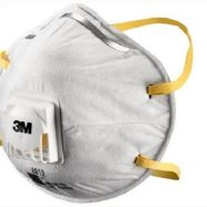 3M Cupped P1 Particulate Respirator – Pack Of 10