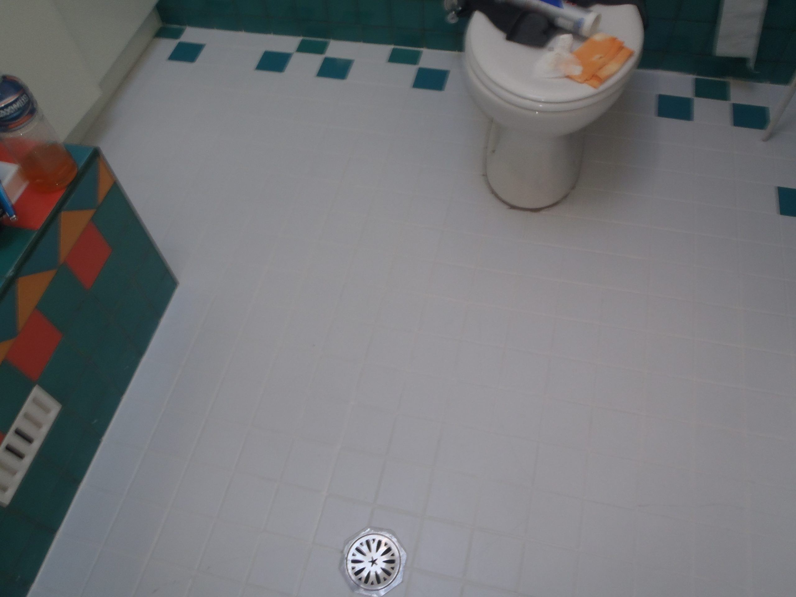 Grout Coloursealing after