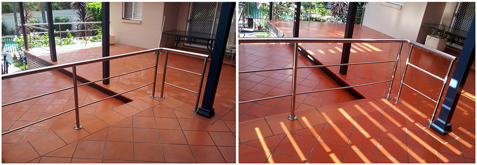 Terracotta Outdoor Tiles Clean and Seal
