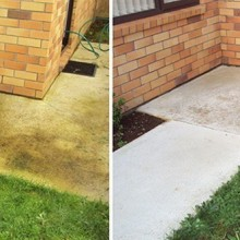 Exterior Patio Path Driveway Cleaning