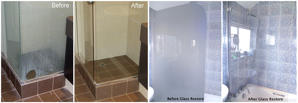 Glass Restoration & Glass Protection - Tile and Grout Cleaning