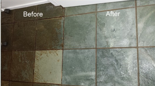 Restoring Slate Tiles Amp Tile Cleaning Groutpro
